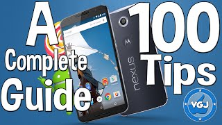 100 Android Lollipop Tips: A Complete Beginner's Guide!