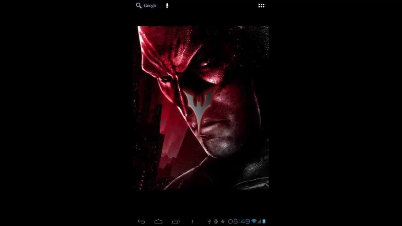 Batman 3D Live Wallpaper FREE - YouTube