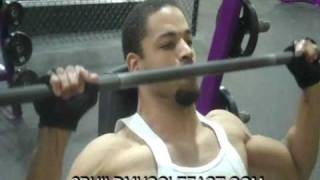 Shoulder Workout To Build Muscle Fast At Planet Fitness!!!! @hodgetwins