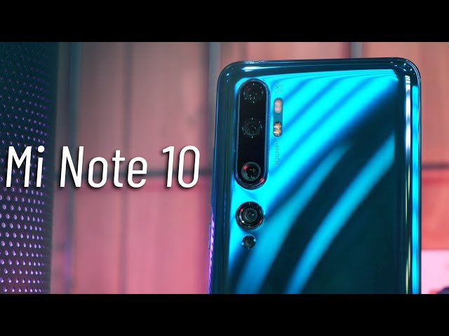 108 МП это НЕ ТОП? - Обзор Xiaomi Mi Note 10