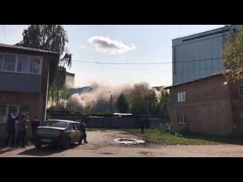 муром элеватор взрыв видео