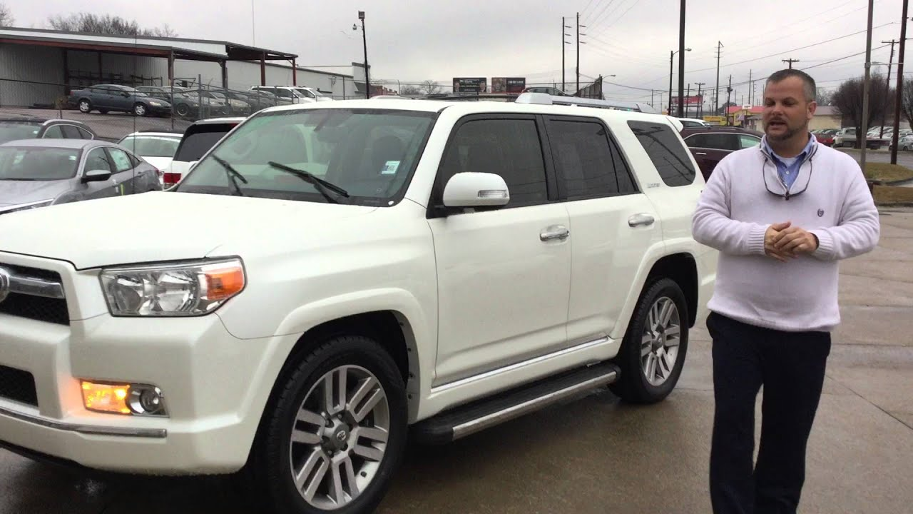 2012 toyota 4runner for matthew from burney akhtar with tameron