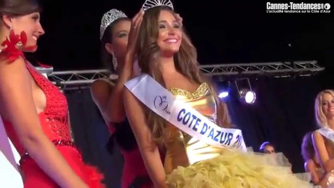 Election de Miss Côte d'Azur 2014 - Charlotte Pirroni - YouTube