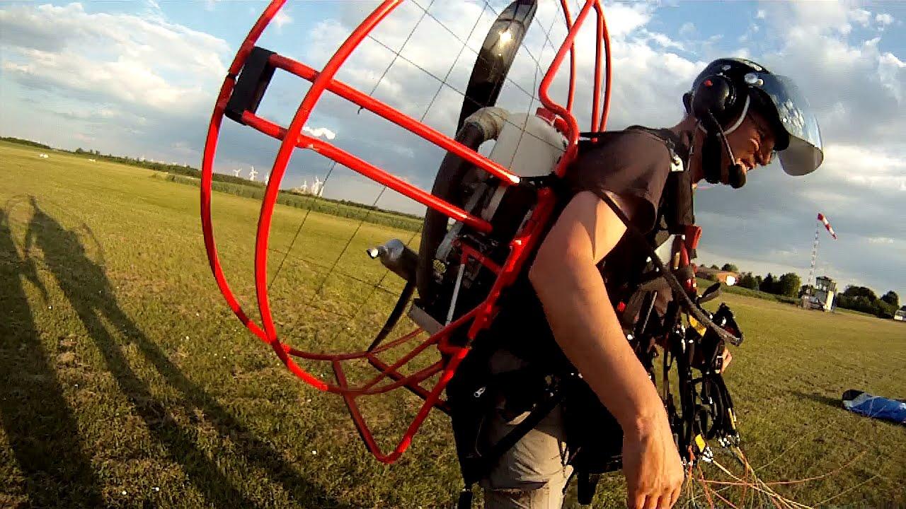 ppg motorschirmfliegen paramotoring fresh breeze solo 210 first flight with own ppg youtube. Black Bedroom Furniture Sets. Home Design Ideas