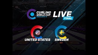 Men's Final - Curling World Cup leg two, Omaha, United States - second leg