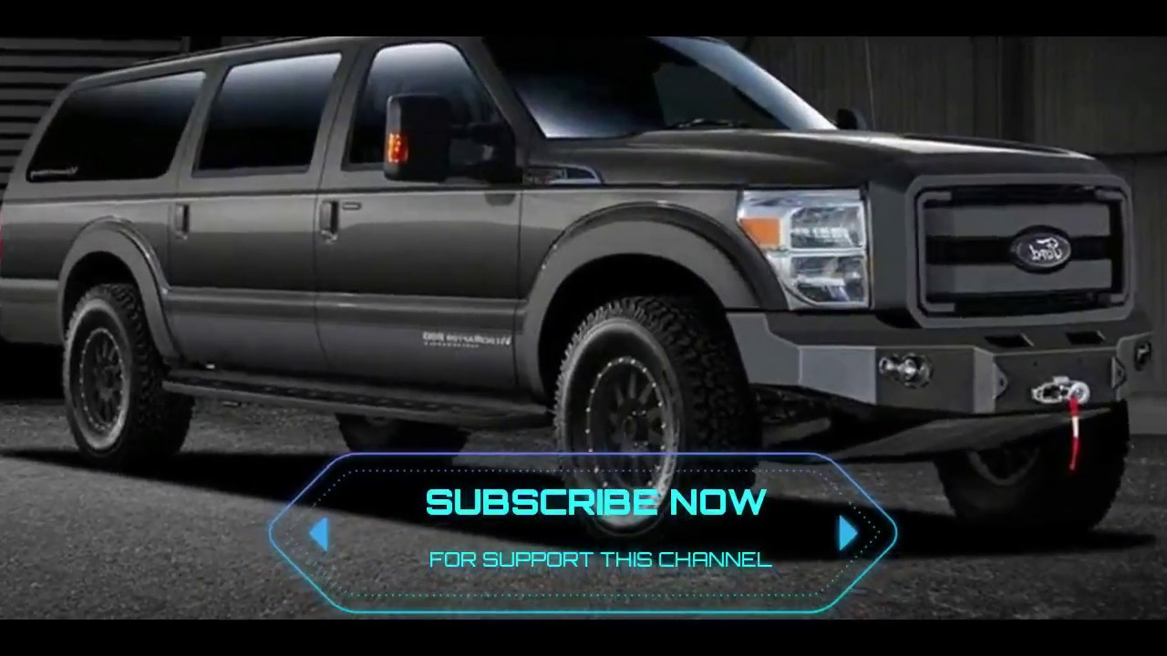 2018 Excursion >> 2018 Ford Excursion Luxury Suv Review Price And Releasae Date