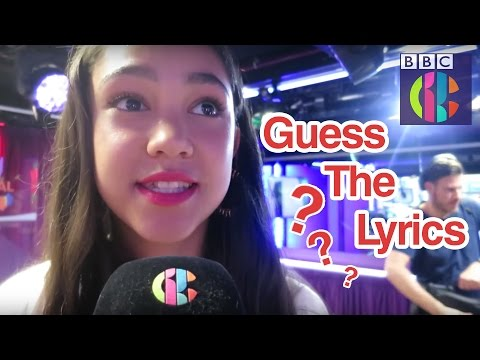 Can you guess the lyric? | CBBC Official Chart Show