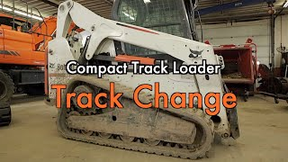 Compact Track Loader (CTL) Rubber Track Installation - ConEquip Parts
