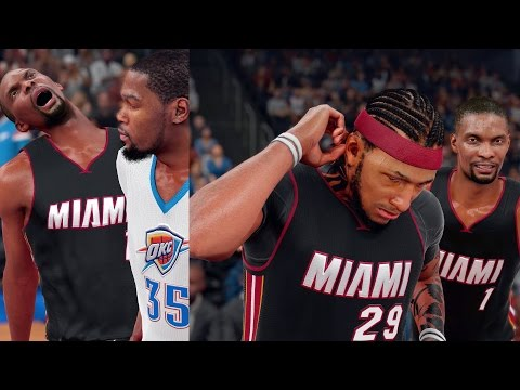 NBA 2K16 MyCAREER - Bosh Takes The Last Shot!! DEFENSE WINS GAMES!
