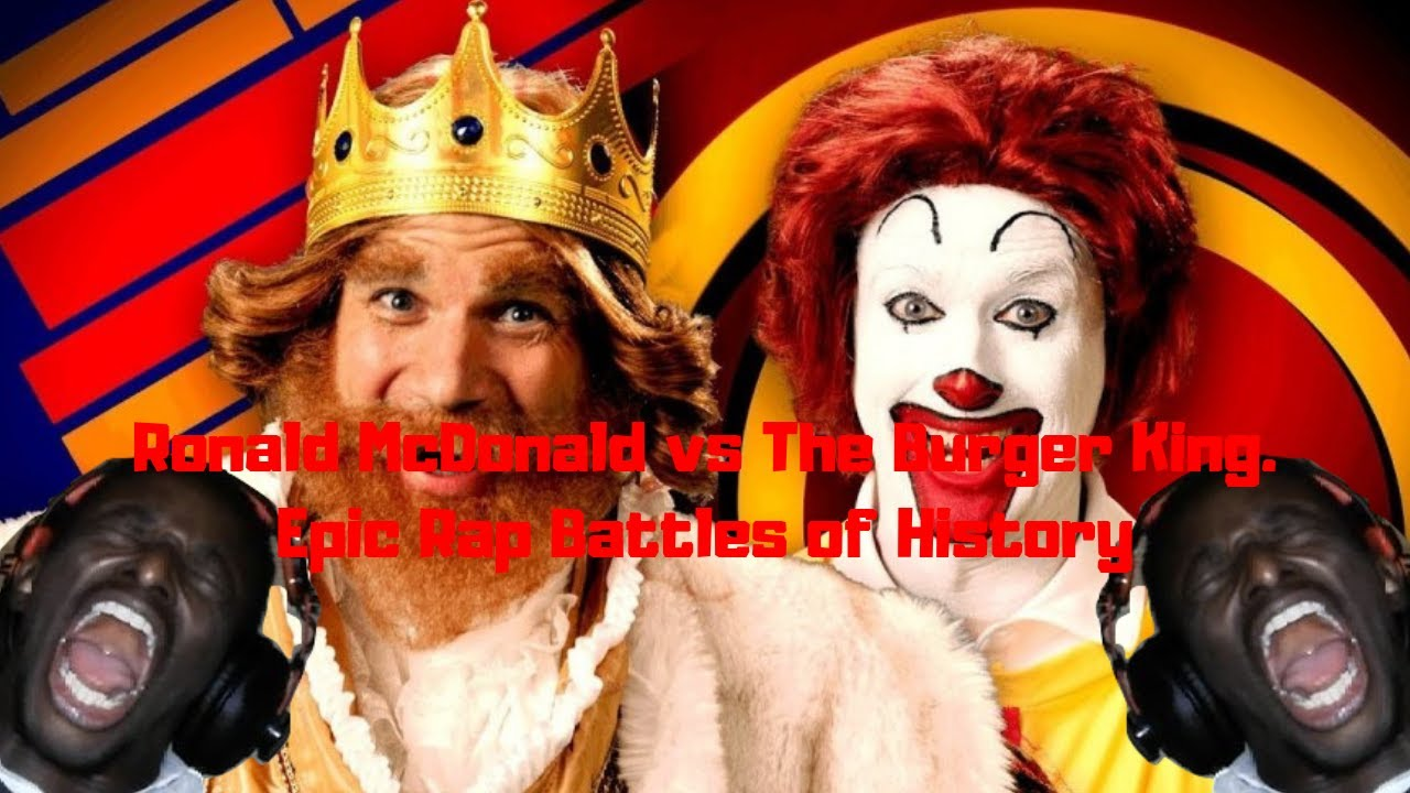 8f528d2e Ronald McDonald vs The Burger King. Epic Rap Battles of History REACTION!!