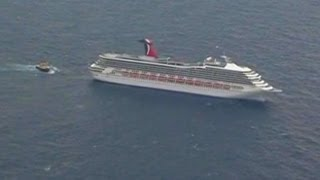 Powerless Carnival Cruise Ship Heading Back to Port