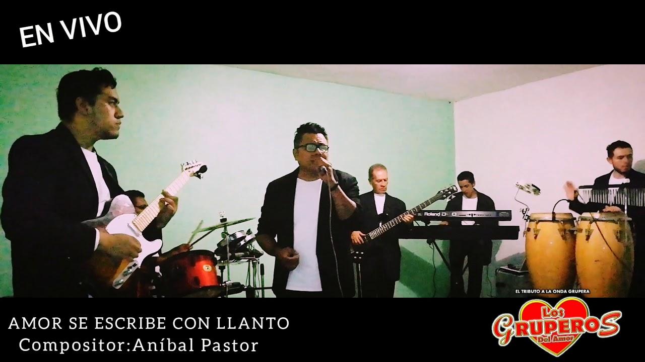 Download Amor Se Escribe con Llanto// LOS GRUPEROS DEL AMOR