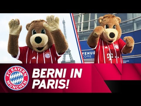 Berni on Tour in Paris 🐻 🇫🇷 | PSG vs. FC Bayern ⚽