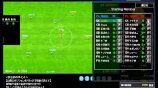 サッカーカーニバル 【操作】試合中操作