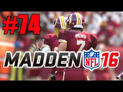 Madden 16 Career Mode - Part 74 - Another Trap!? (Redskins vs Colts) [Season 4, Week 12]