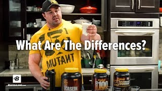 Protein Basics: Casein vs Whey Blends vs Whey Isolate | IFBB Pro Big Ron Partlow