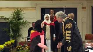 Degree Congregation 11am Wednesday 15th July 2015 – University of Leicester