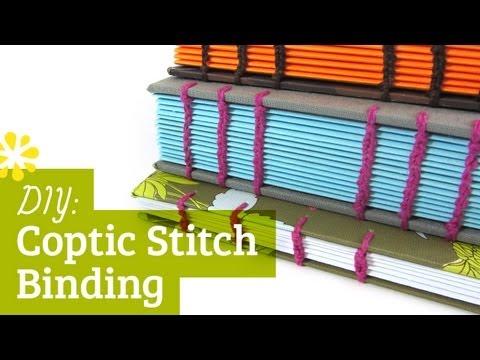 Diy Coptic Stitch Bookbinding Tutorial  Sea Lemon