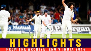 Bhuvi and Sharma's Test Best Figures as India Win at Lord's! | Classic Match | England v India 2014
