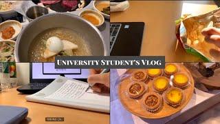 대학생 일상 VLOG #36 | 1학기 개강 브이로그 …