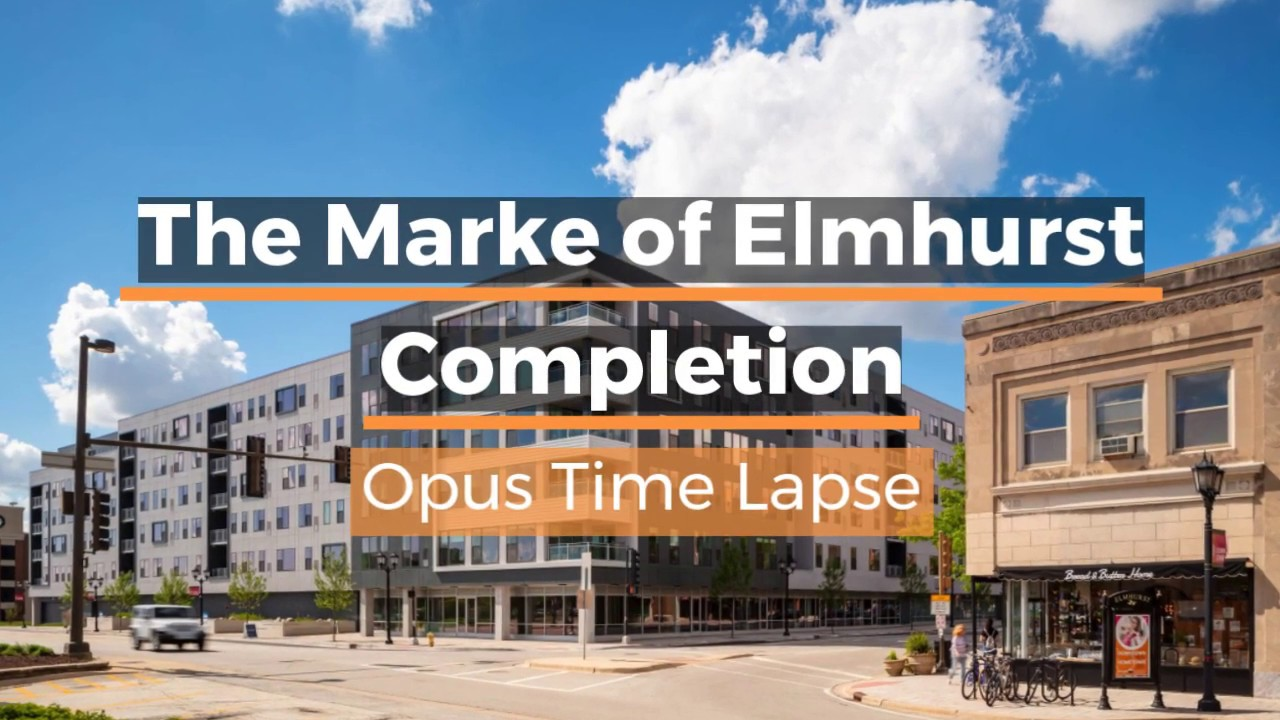 Luxury Living Comes To Elmhurst Ill The Opus Group