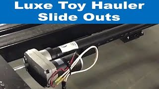 Baixar Luxe Toy Hauler fifth wheel slide outs