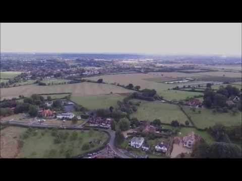 Cookham Dean from above filmed with DJI Phantom.