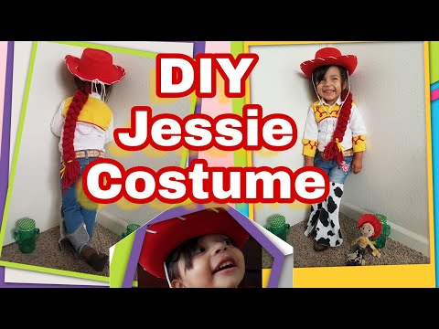 DIY | Jessie From Toy Story Costume