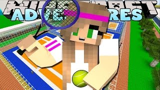 Minecraft : Little Kelly Adventures - PLAYING TENNIS!