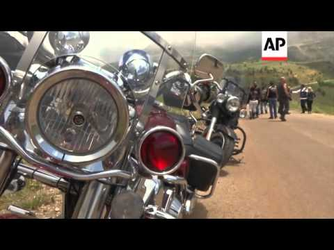 Beirut bikers ride away the troubles