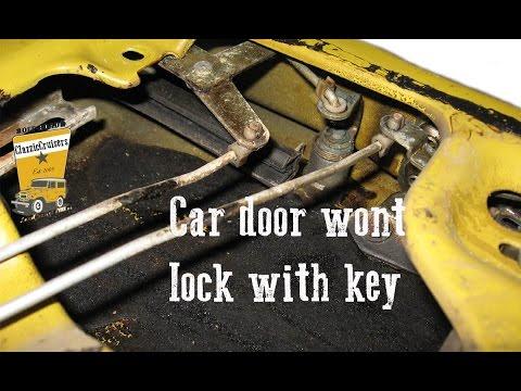 how to fix a door lock that won t lock