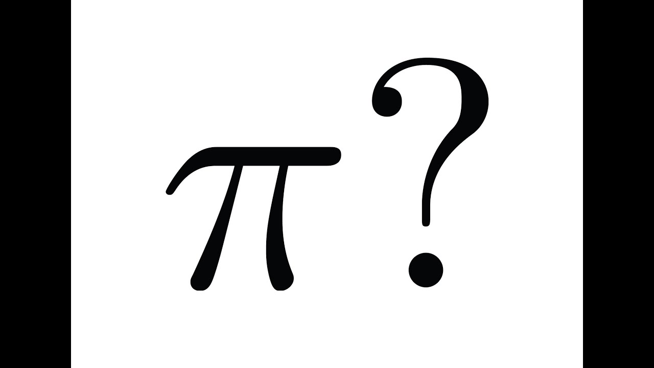 Why Is The Symbol Pi Used Youtube
