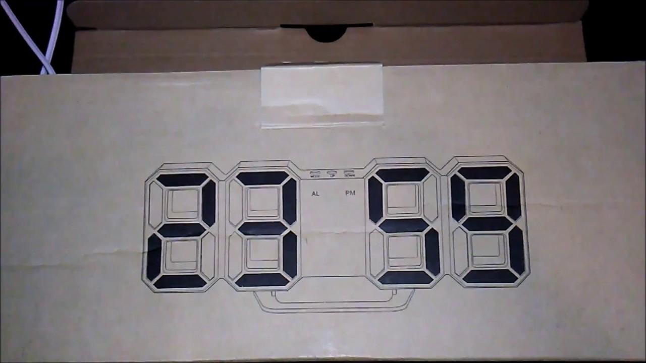 LED Digital Alarm Clock Review.....