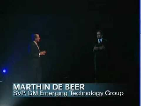On Stage Telepresence - John Chambers in India
