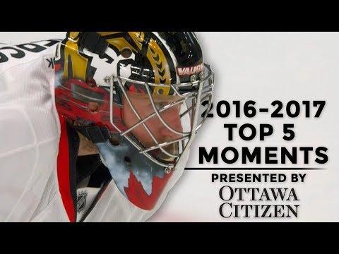 2016-2017 Top 5 Moments - Ottawa vs. Edmonton