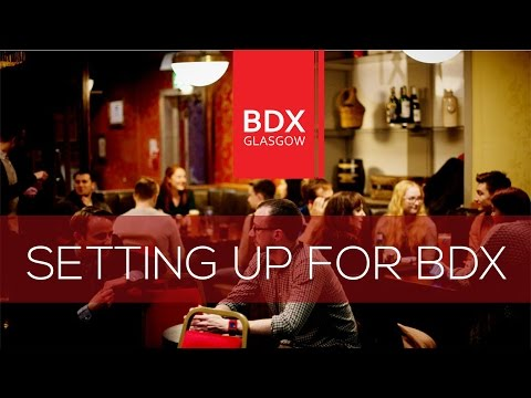 Setting Up BDX Glasgow SEO Panel Event