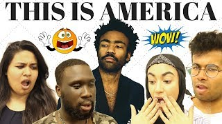British People React To Childish Gambino - This Is America (Official Video)