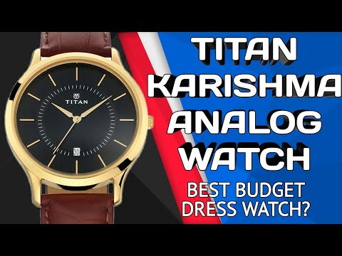 Titan Karishma Analog Watch - Best Budget Dress Watch? | 1825YL01