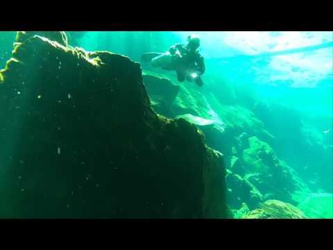 CenoteDosOjos, Yucatan, Mexiko, Juli 2016