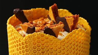 Bubble Wrap Honeycomb Cake • Tasty