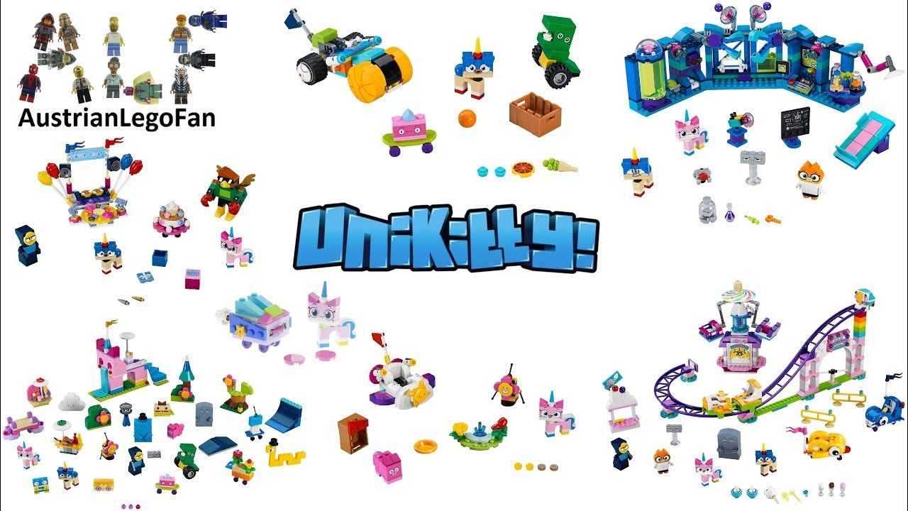 All Lego Unikitty Sets 2018 Complete Collection Lego Speed Build