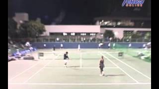 ニッケ全日本テニス選手権83rd 準々決勝 吉備・青山 VS 清水・瀬間