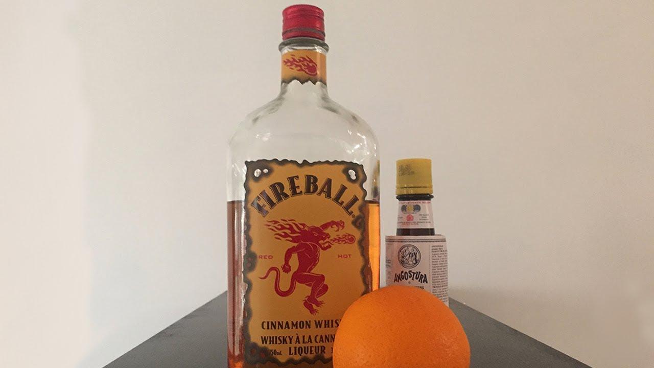 Fireball Old Fashioned