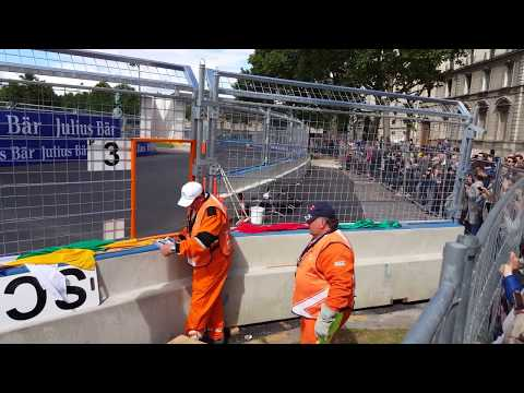 Formulec EF01, the electric F1 racing in the streets of  Paris