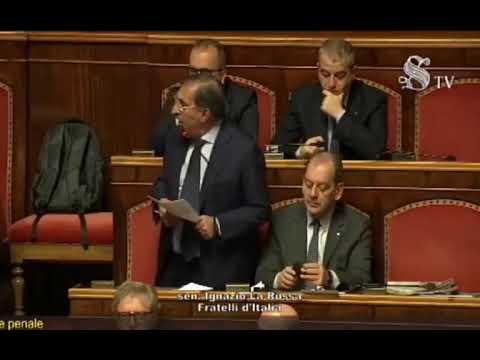 L'intervento di Ignazio La Russa sull'autorizzazione a procedere nei confronti di Salvini