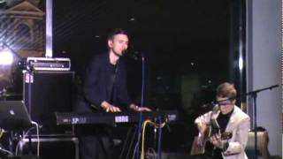 Piano Bar (Tesla Boy) - Don't Stop The Dance (Bryan Ferry cover) @ Mansarda, SPb (22.10.2011) [4/10]