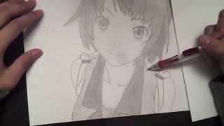 Video Drawing Senjougahara Hitagi! - Monogatari Series: Season 2 download MP3, 3GP, MP4, WEBM, AVI, FLV Oktober 2018
