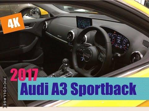 【見てきた】Audi A3 Sportback 1 4 TFSI Sport 2017 〜INTERIOR〜