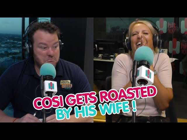 WATCH: Cosi Get Absolutely Roasted On Air By His 'Sick' Wife