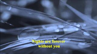 England Dan & J. Ford Coley - Nights Are Forever Without You
